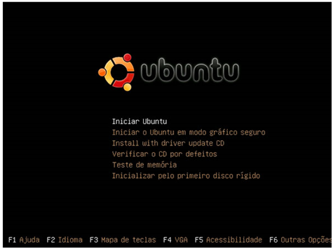 Ubuntu - Boot Screen